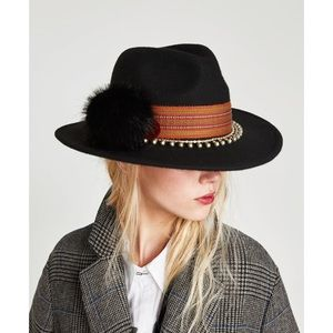 Zara felt Hat 🎩